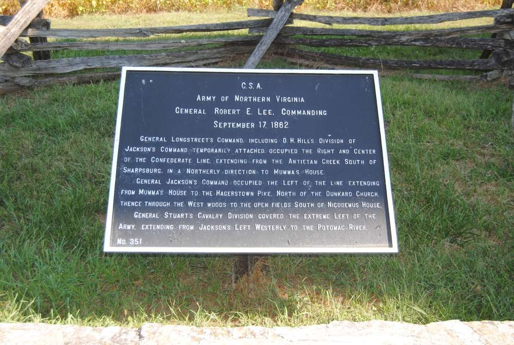 Army of Northern Virginia Marker