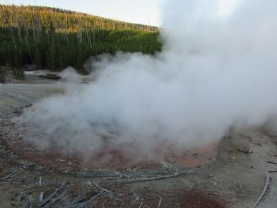 Echinus Geyser image. Click for full size.