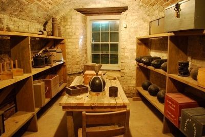 Artillery Store Room image. Click for full size.