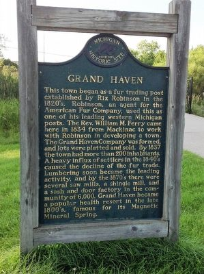 Grand Haven Marker image. Click for full size.