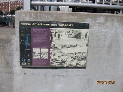 Native Americans and Winooski Marker image. Click for full size.