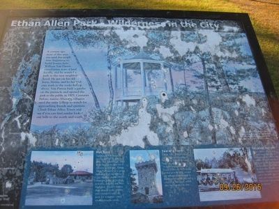Ethan Allen Park - Wilderness in the City Marker image. Click for full size.