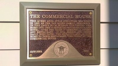 The Commercial House Marker image. Click for full size.