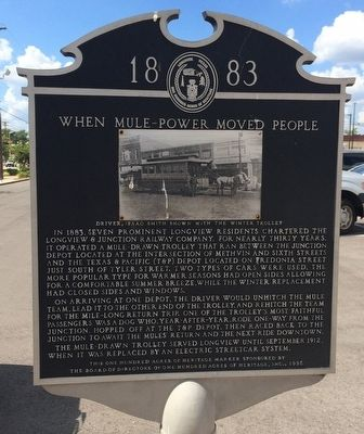 When Mule Power Moved People Marker image. Click for full size.