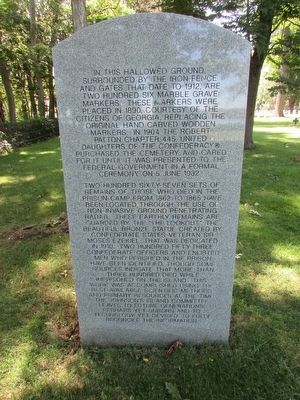 Johnson Island Monument Marker image. Click for full size.