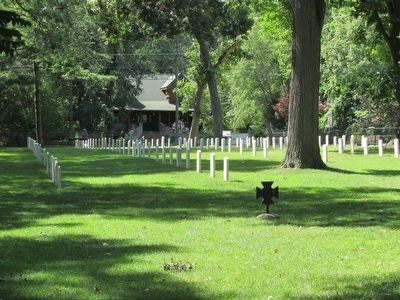 Confederate Grave Markers image. Click for full size.
