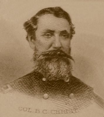 Col. Benjamin C. Christ (1824-1869) image. Click for full size.