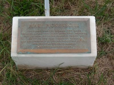 Mary Pickersgill Marker image. Click for full size.