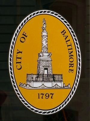 The Baltimore City Seal image. Click for full size.