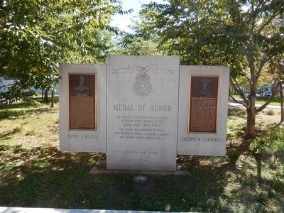Medal of Honor Marker image. Click for full size.