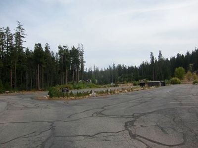 Echo Summit Olympic Practice Site - Now a Parking Lot image. Click for full size.