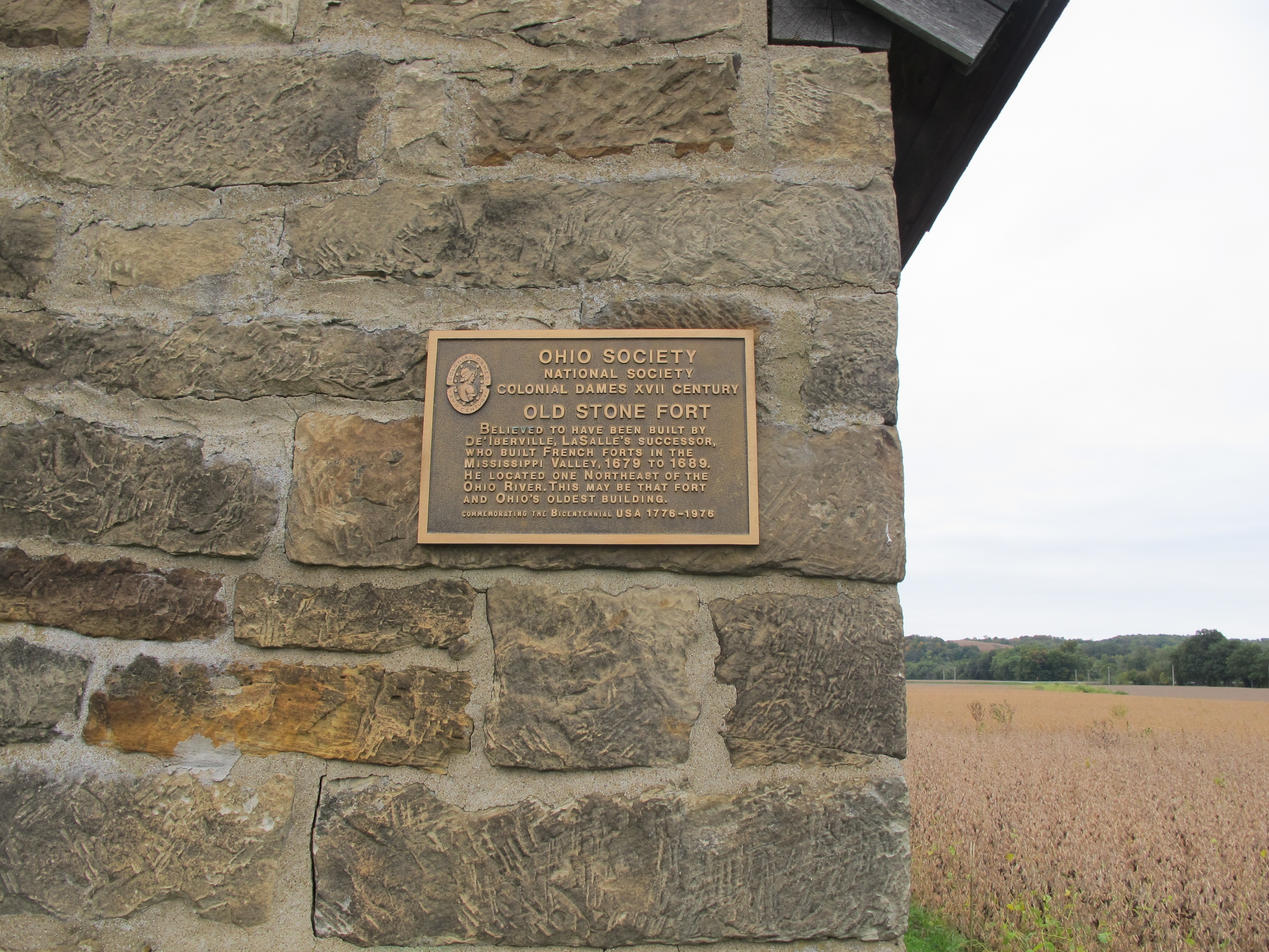 Old Stone Fort Marker
