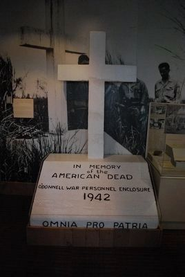 National Prisoner of War Museum Display image. Click for full size.