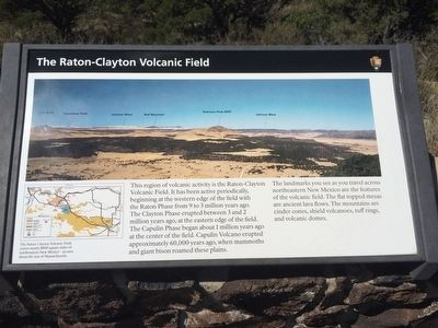 The Raton-Clayton Volcanic Field Marker image. Click for full size.