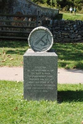 51st Pennsylvania Volunteer<br>Infantry Monument (Reverse) image. Click for full size.