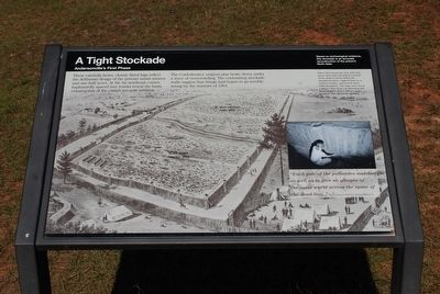 A Tight Stockade Marker image. Click for full size.