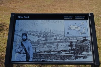 Star Fort Marker image. Click for full size.