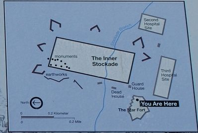 Star Fort Marker Map image. Click for full size.