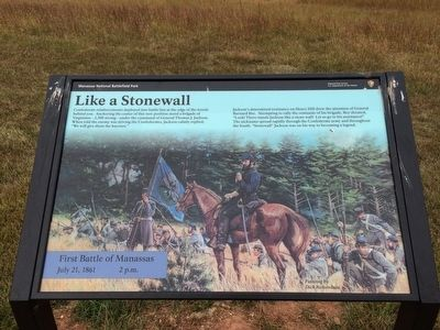Like a Stonewall Marker image. Click for full size.