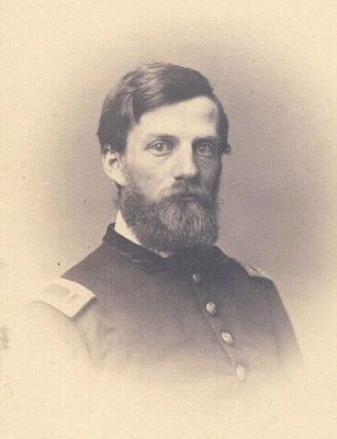 Col. Henry Walter Kingsbury (1836-1862) image. Click for full size.