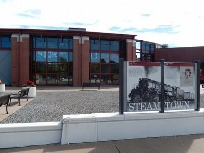Steamtown Marker image. Click for full size.