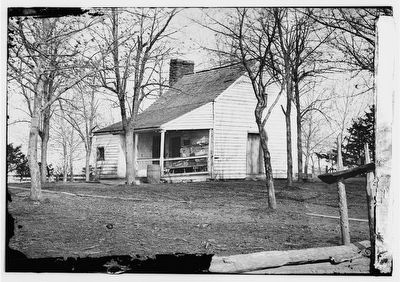 Bull Run, Virginia. Robinson's house image. Click for full size.