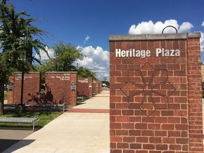 Heritage Plaza park image. Click for full size.