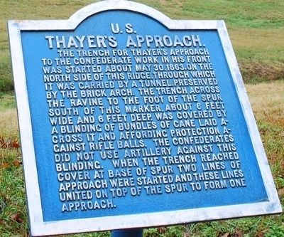 Thayer's Approach Marker image. Click for full size.