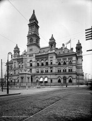 Post Office, Baltimore, MD c. 1903 image. Click for full size.