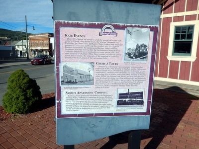 Queen City Station Marker image. Click for full size.