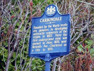 Carbondale Marker image. Click for full size.