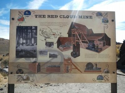 The Red Cloud Mine Marker image. Click for full size.