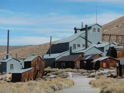 The Standard Consolidated Mine at Bodie image. Click for full size.