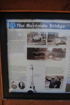 The Burnside Bridge Marker image. Click for full size.