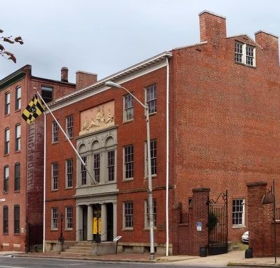 Peale's Baltimore Museum image. Click for full size.