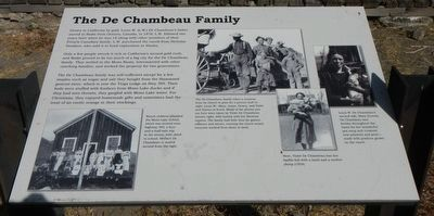 The De Chamber Family Marker image. Click for full size.
