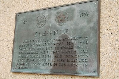 Campanile Marker image. Click for full size.