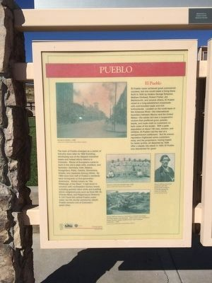Pueblo Marker (Panel 1) image. Click for full size.