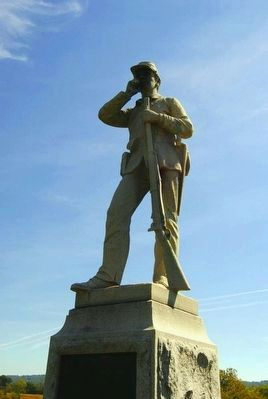 45th Pennsylvania Volunteer Infantry Monument image. Click for full size.