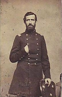 Col. Thomas Welsh (1824-1863) image. Click for full size.