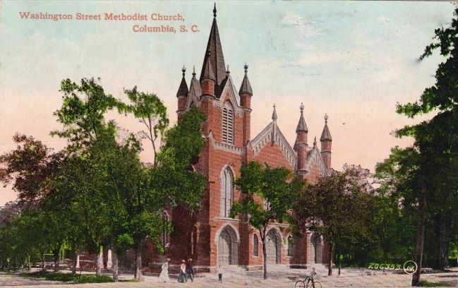 <i>Washington Street Methodist Church, Columbia, S.C.</i> image. Click for full size.