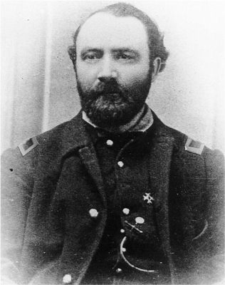 Col. Harrison Fairchild (1820-1901) image. Click for full size.