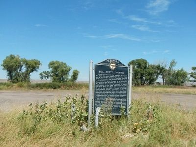 Box Butte Country Marker image. Click for full size.