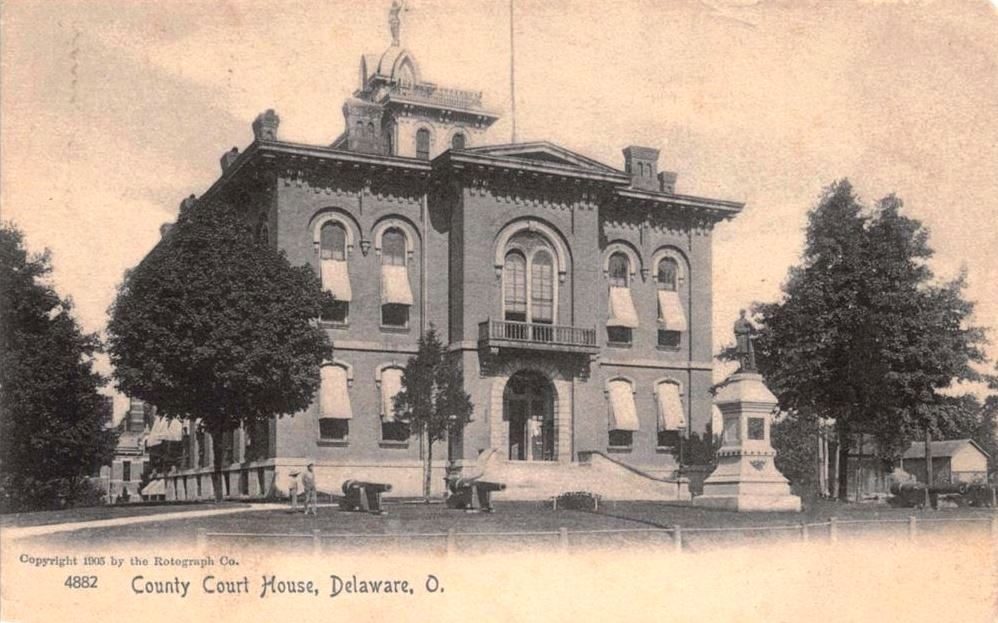 <i>County Court House, Delaware, O.</i>