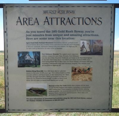 385 Gold Rush Byway Area Attractions image. Click for full size.