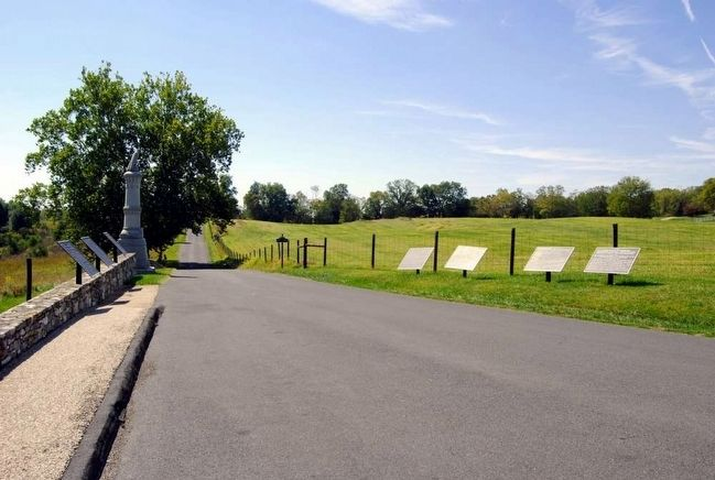 28th Ohio Volunteer Infantry Monument<br>Last on the Left image. Click for full size.