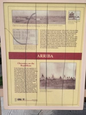 Arriba Country Marker (Panel 1) image. Click for full size.