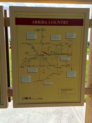 Arriba Country Marker (Panel 4 Map) image. Click for full size.