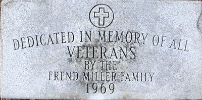 Plumwood Veterans Memorial Marker image. Click for full size.