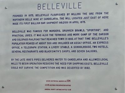 Belleville Marker image. Click for full size.